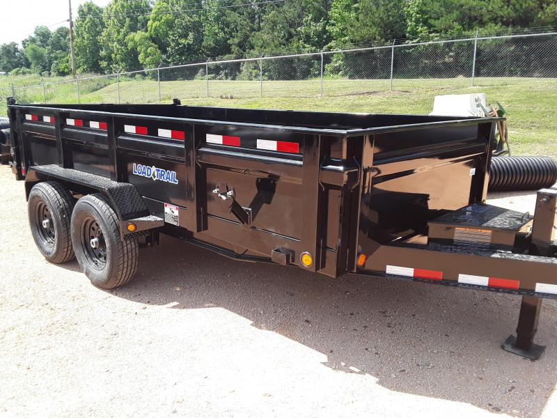 "Load Trail 83"" x 14' Dump Trailer 2-7k Axles"