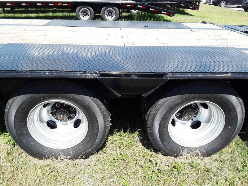 2018 Iron Bull GOOSENECK LOW PRO 102 X 30 2-10K AXLES Flatbed Trailer