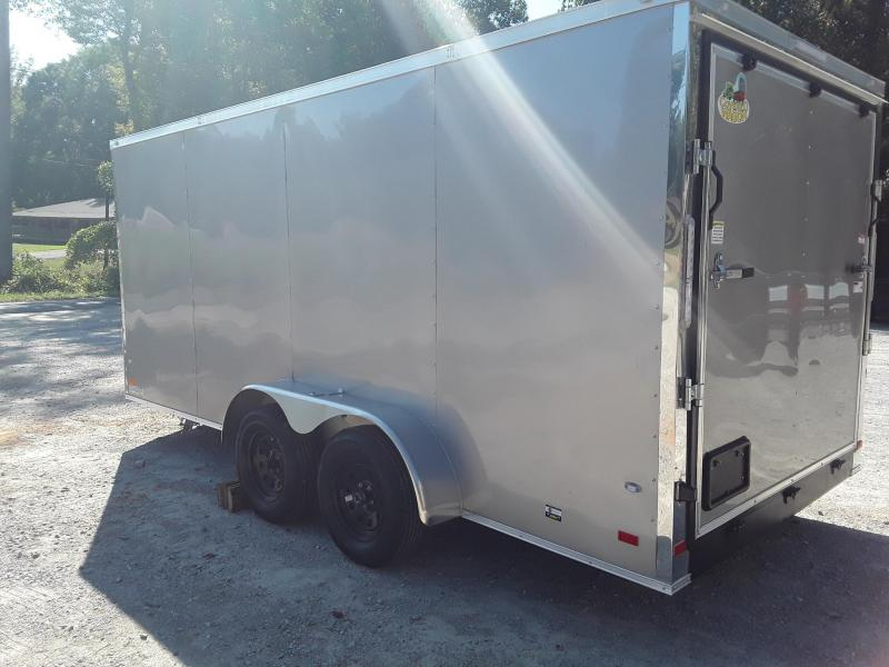 2019 Covered Wagon Trailers 7' X 16' Enclosed W/2 3500 lb axles Enclosed Cargo Trailer