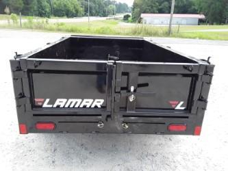"2019 Lamar Trailers 60"" X 8' MINI DUMP 7K (1 AXLE) Dump Trailer"