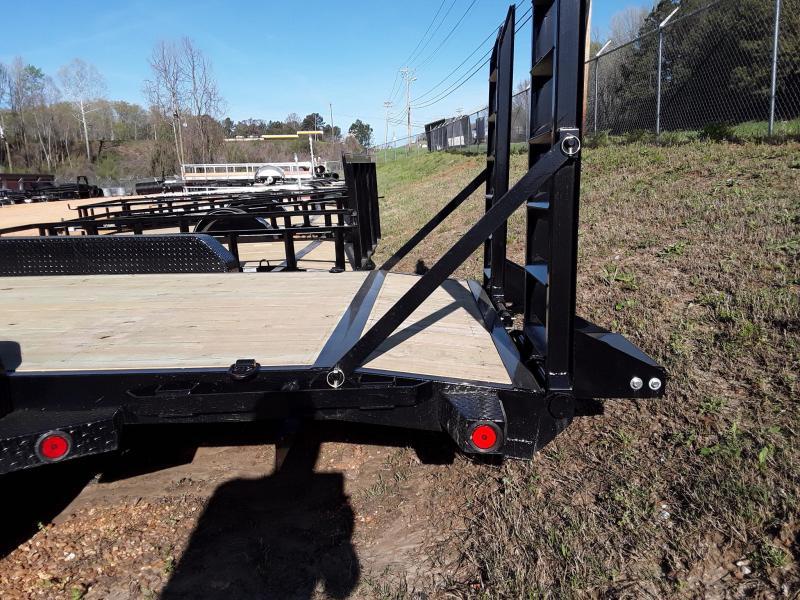 "2019 Iron Bull 83"" X 20' Equipment Trailer W 2 7k Axles"