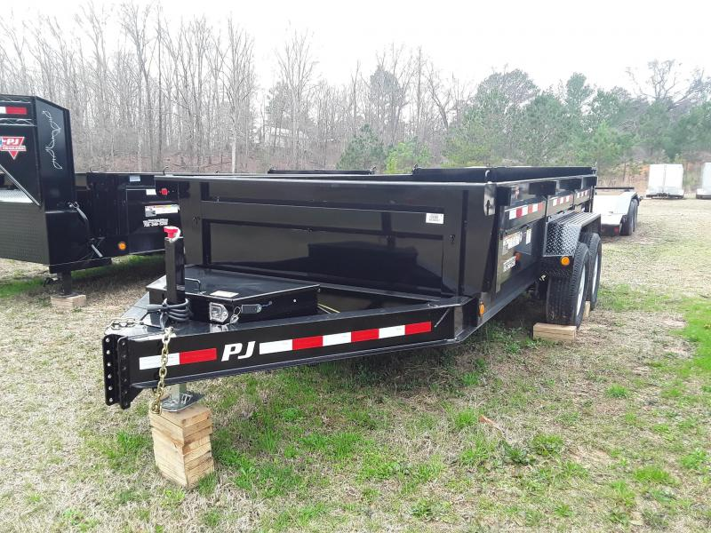 "2019 PJ Trailers  83"" X 14' Lo Pro Dump Trailer W/ 2- 7000 lb Axles"