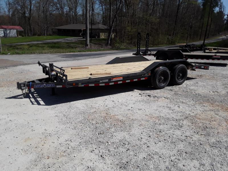 "102""x20' Tandem Carhauler Drive Over Fenders W/ Slide in Ramps  in Sherman, MS"