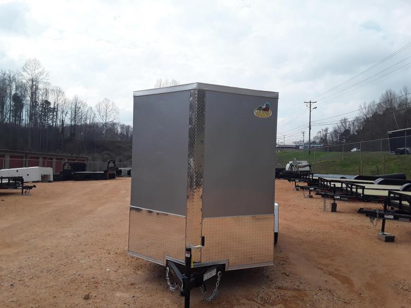 2019 Covered Wagon 6' X 12' Enclosed Cargo Trailer W/ 2990 lb axle