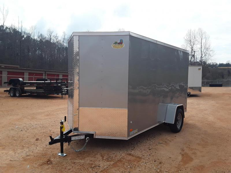 2019 Covered Wagon 6' X 12' Enclosed Cargo Trailer W/2990 lb axle