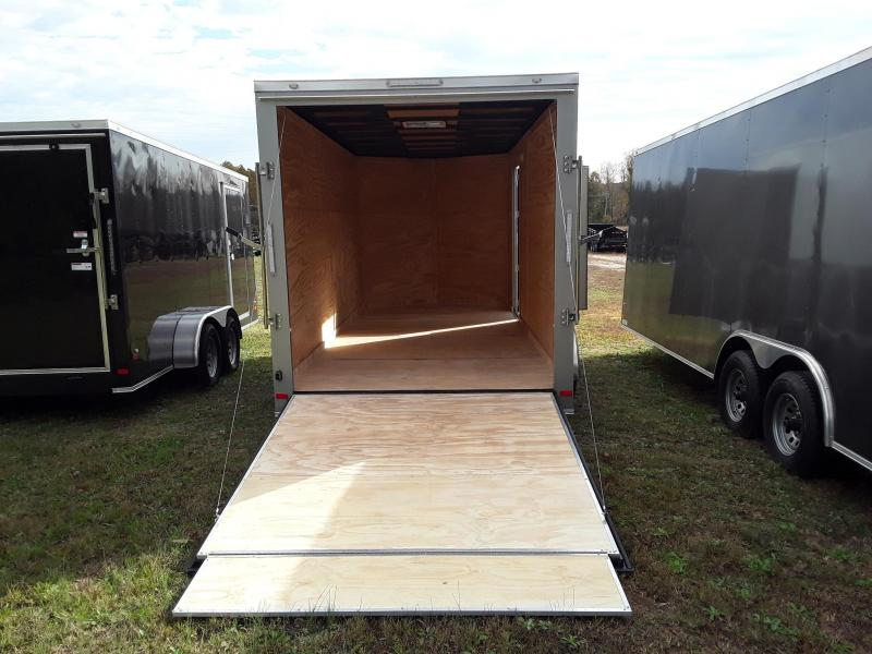 2018 Covered Wagon Trailers TA 7'X16' Gold Enclosed Cargo Trailer