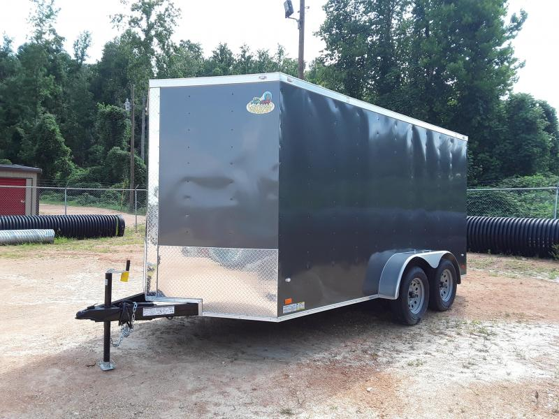 2019 Covered Wagon Trailers 7' X 14' Enclosed Cargo Trailer Enclosed Cargo Trailer