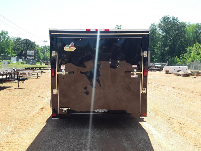 2019 Covered Wagon Trailers 7' X 14' Enclosed Cargo Trailer