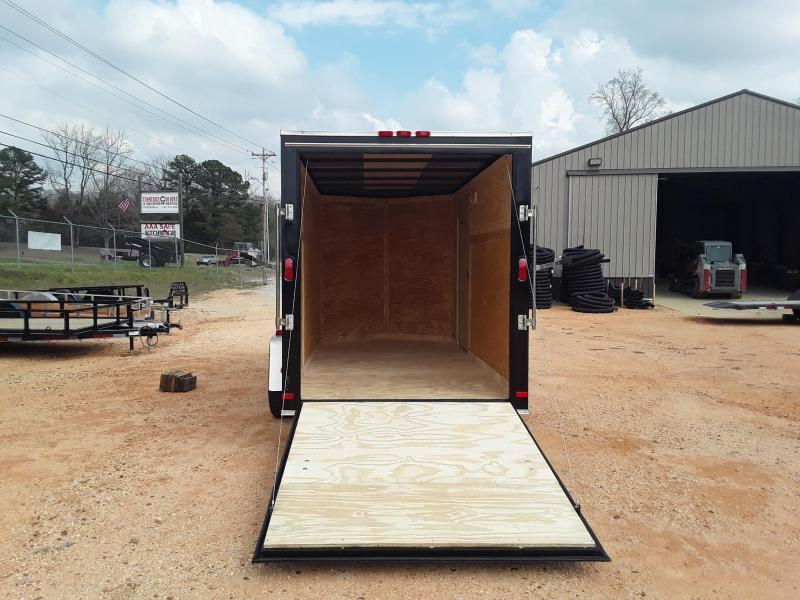 2019 Covered Wagon Trailers 6' X 12' Enclosed Cargo Trailer