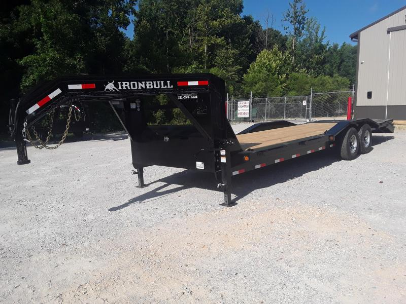 "2019 Iron Bull 102"" X 26' Gooseneck Equipment Trailer"