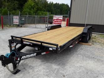 2018 Lamar Trailers 83 X 20 EQUIPMENT HAULER 14K Equipment Trailer in Belmont, MS