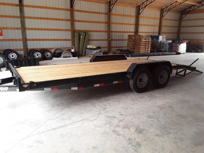 2018 Lamar Trailers 83 X 20 EQUIPMENT HAULER 14K Equipment Trailer