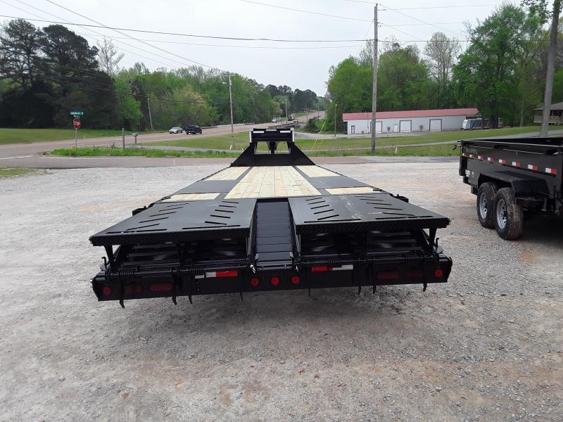 """2019 Iron Bull 102"""" X 32' Flatbed Trailer W 2 10 K Axles and Max Ramps"""