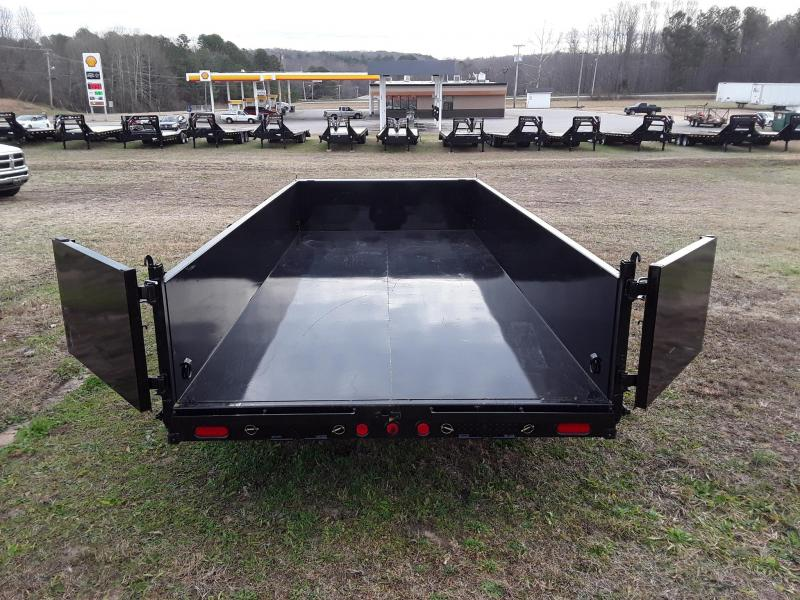 "2019 PJ Trailers 83"" X 16' Low Pro Dump Trailer W 2 70000 lb axles"