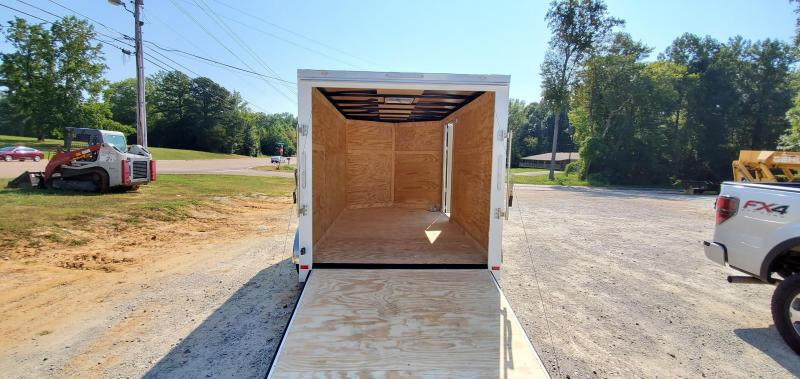 2020 Covered Wagon 7' x 12' Enclosed Cargo Trailer