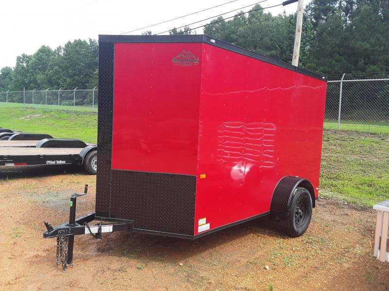 2019 Rock Solid  6' X 10'  Enclosed Trailer W Blackout Package