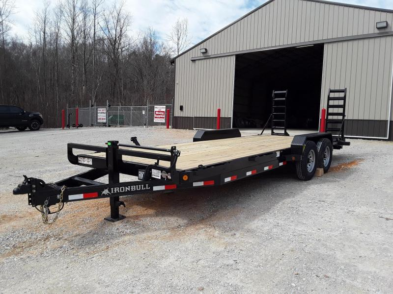 "2019 Iron Bull EQUIPMENT HAULER 83"" X 22'  W/2-7000LB AXLES  in Rector, AR"