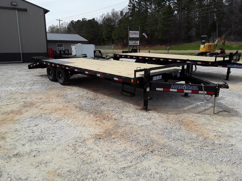 "102""x24' Equipment Trailer W/ 5' Self Cleaning Dove & 2 Flip Over Ramps in Belmont, MS"