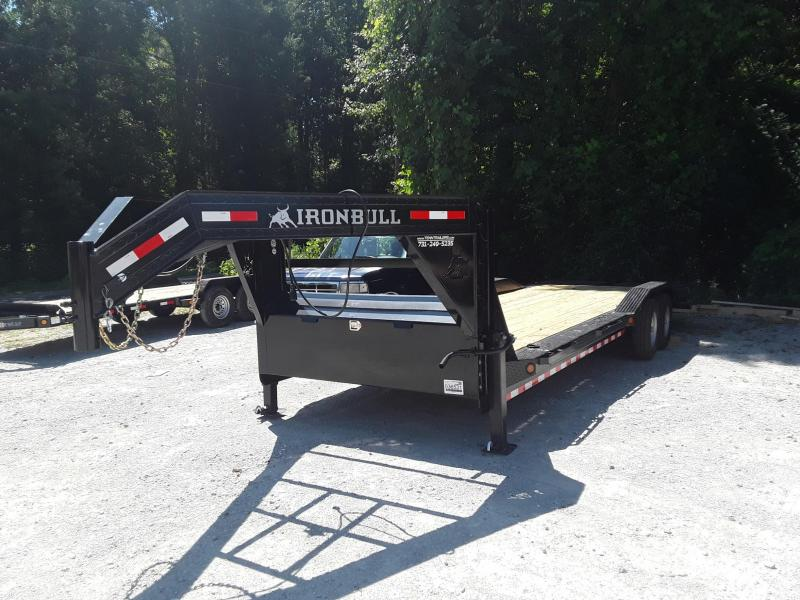 "2020 Iron Bull 102"" X 26' Flatbed Trailer"
