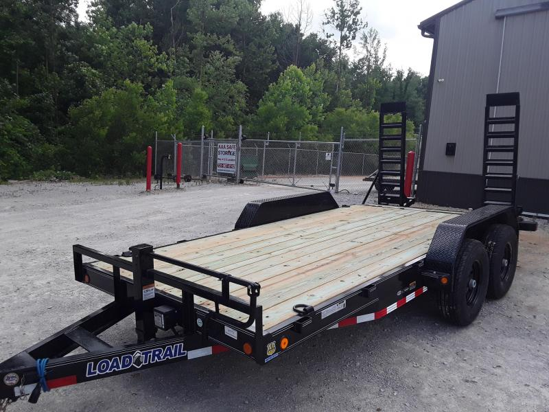 "2019 Load Trail 83"" X 16' Tandem Axle Carhauler/ EquipmentTrailer in Dyess, AR"