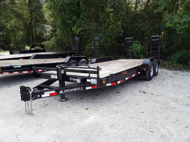 "2018 83"" X 22'  Iron Bull Equipment Trailer W/ 2 7000 Lb Axles in Sherman, MS"
