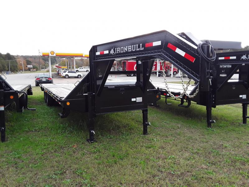 "2018 GOOSENECK LOW PRO 102"" X 28' 2-10K AXLES in Sherman, MS"