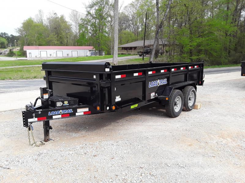 "2019 Load Trail 83"" X 16' Dump Trailer W 2 7000 lb axles"