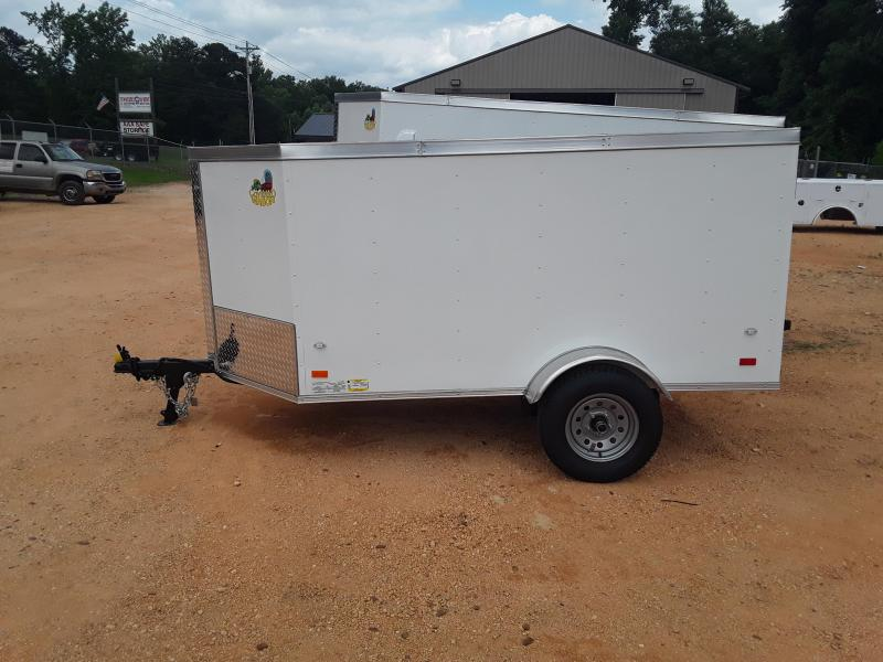 2019 Covered Wagon Trailers 4' X 8' Enclosed Cargo Trailer