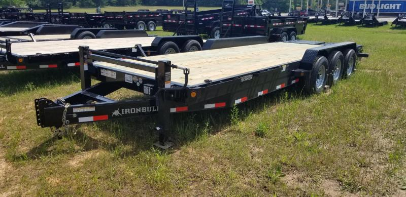 "2019 Iron Bull 83"" X 24' Equipment Trailer W 3 7000 Lb axles and Rampage ramps in Dyess, AR"