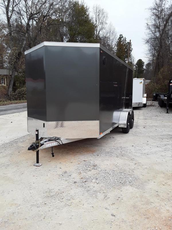 2019 Legend Trailers Thunder V Nose Cargo Enclosed Cargo Trailer 7' X 18' W 2 3500 Lb Axles