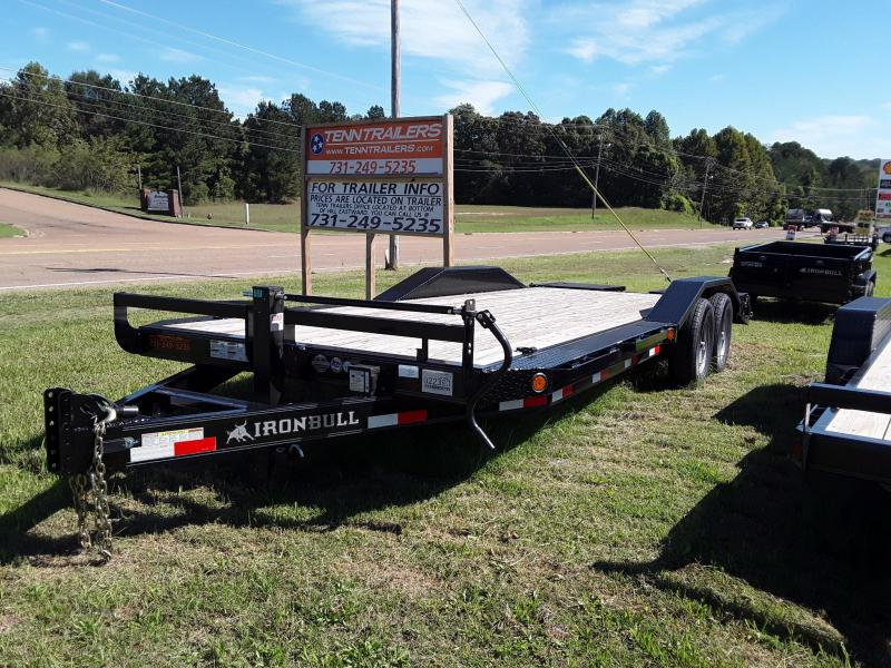 "2018 Iron Bull Equipment Trailer 102"" X 22' W 2 7000 Lb Axles in Sherman, MS"
