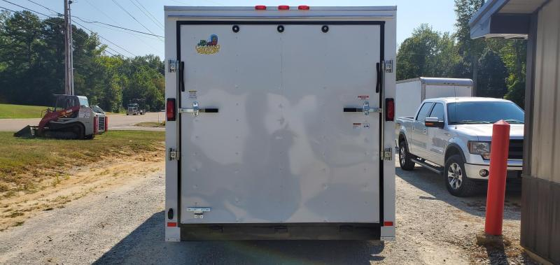 2020 Covered Wagon 7' X 16' Enclosed Trailer W/2 3500 lb axles