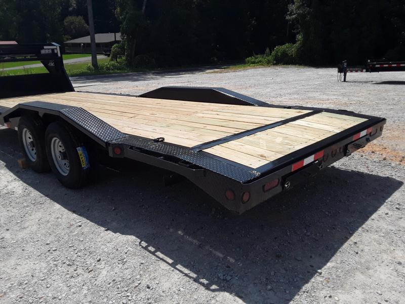 "2019 Iron Bull 102"" X 24' Flatbed Trailer"