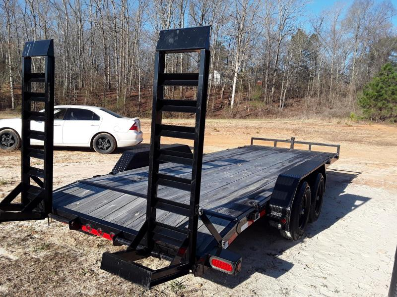 "2018 Load Trail  83"" X 20' Equipment Trailer W 5200 Lb Axles"