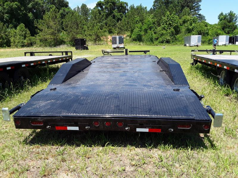 """EQUIPMENT 102"""" X 22' 2-7000LB AXLES w/ Steel Floor Drive over fenders"""