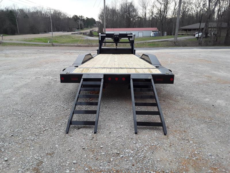 """2019 Iron Bull 8"""" Channel Frame 102"""" X 24' Flatbed Trailer With 2 7000 Lb Axles"""