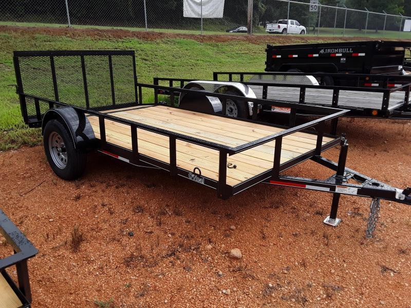 "2019 O Neal 6' 4"" X 12' 3500 lb Axle 2 foot dove 3 foot gate Utility Trailer"
