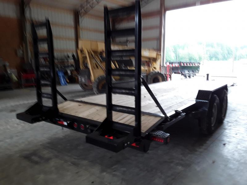 "2018 Iron Bull 83"" X 22' Equipment Trailer"