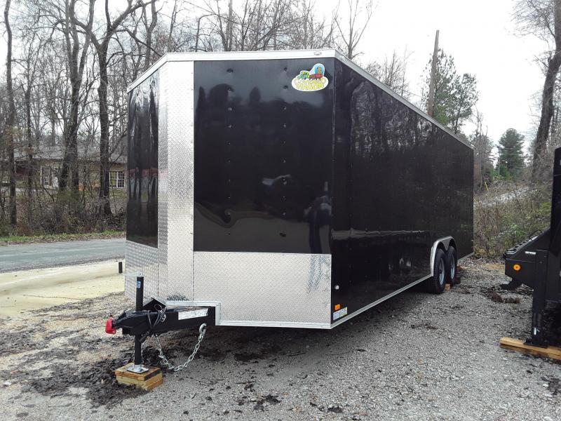 2019 Covered Wagon Trailers 8.5X24TA Enclosed Cargo Trailer