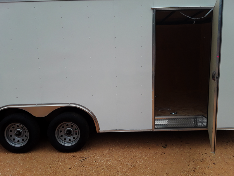 2018 Covered Wagon Trailers 8.5 X 20 W 2 3500 lb axles Enclosed Cargo Trailer