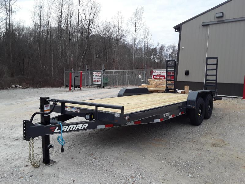 "2019 Lamar Trailers 83"" X 20' EQUIPMENT HAULER 14K"