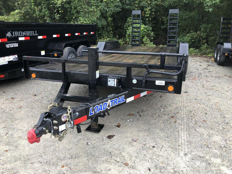 2017 Load Trail Equipment Trailer 22' with Stand Up Ramps  in Coffeeville, MS
