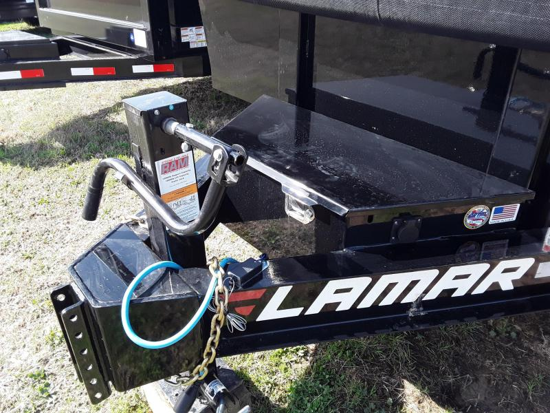 "2019 Lamar Trailers 83"" X 14' 14 K Dump Trailer"