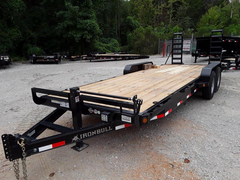 2018 Iron Bull EQUIPMENT HAULER 83 X 18 Equipment Trailer