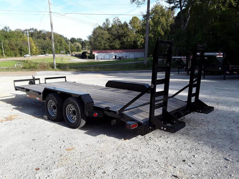 "2019 Iron Bull 83"" X 18' Equipment 5200lb Axles 10400lb GVWR in Dyess, AR"