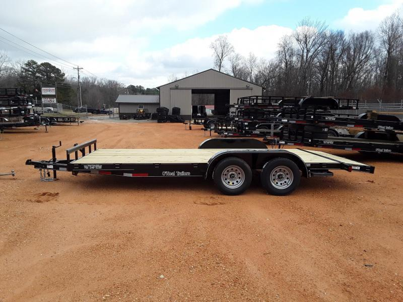 "2019 O Neal 6'10"" X 18' Utility Trailer W Brake on one axle"