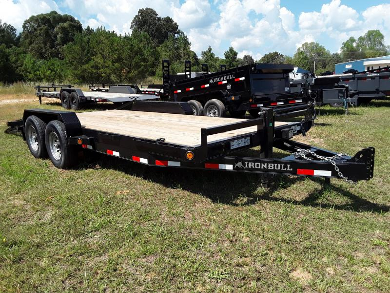 "2018 Iron Bull 83"" X 18'  14K Equipment Trailer"