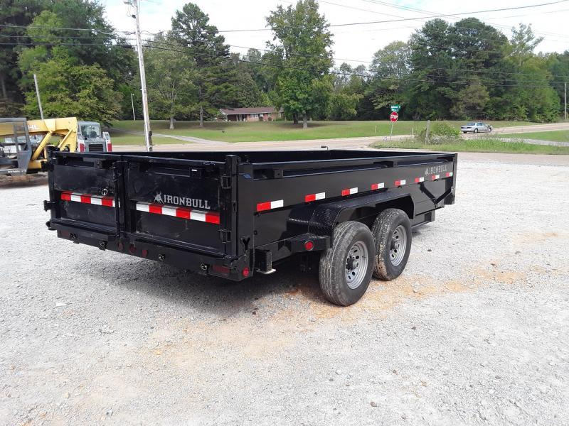 "2019 Iron Bull Dump Trailer 83"" X 16' W 2 70000 lb Axles"