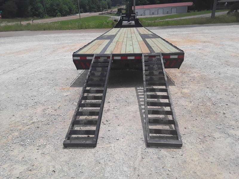 "2019 Load Trail 102"" X 40  Flatbed Trailer W 2 10000 Lb Axles"