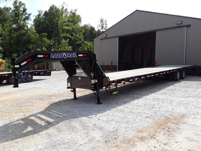 "2019 Load Trail 102"" X 40  Flatbed Trailer W 2 10000 Lb Axles"